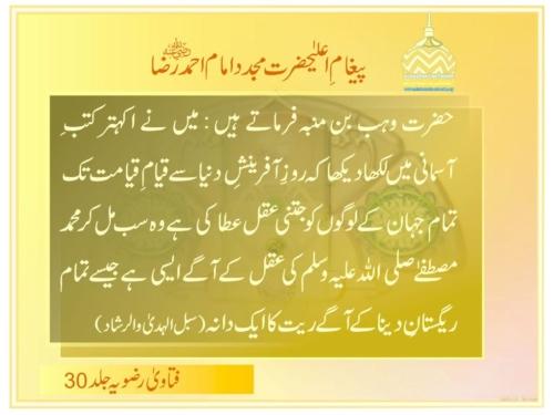Huzoor Ki Aql